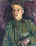 Atanov, self-portrait, 1941